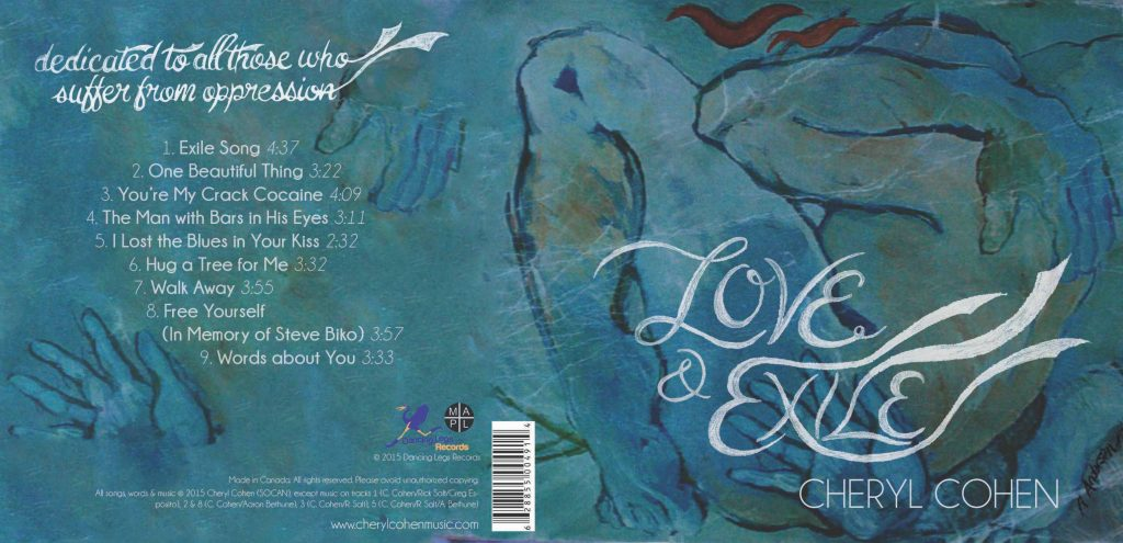 Music: Love & Exile CD cover